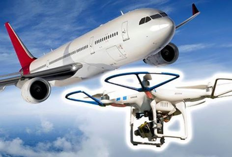 Segnalata mancata collisione tra drone e aereo di linea