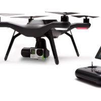 SOLO di 3DRobotics con una GoPro