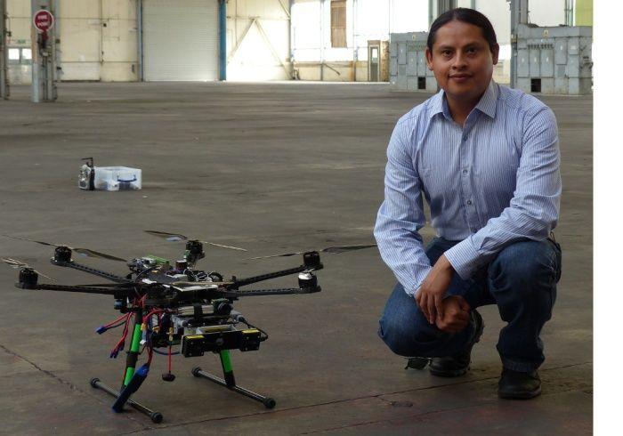Jose Martinez Carranza inventa drone a navigazione ottica senza GPS