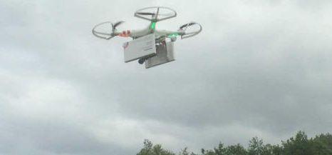 drone consegna pillole per aborto