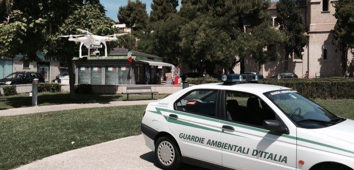 drone a tutela ambiente per guardie ambientali italia