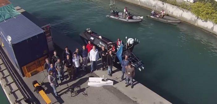 droni marittimi e aerei per missioni di ricerca e soccorso