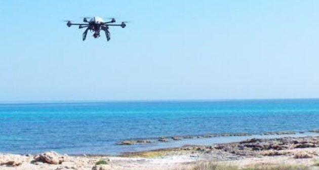 drone egadi ricerce ambientali