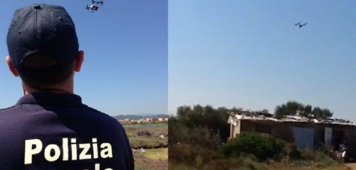 drone in forza alla polizia locale di olbia