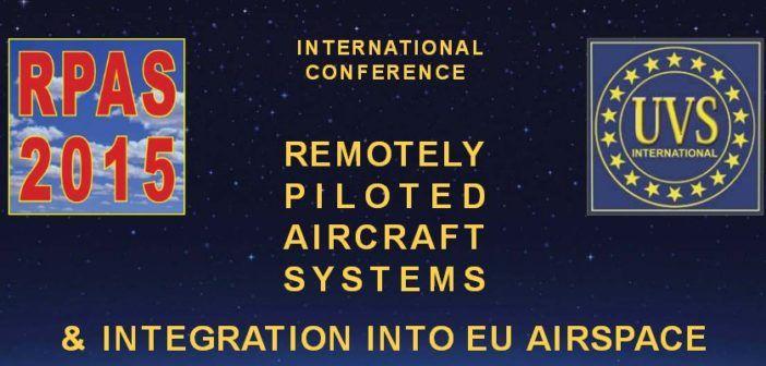 RPAS 2015 logo UAVS conferenza