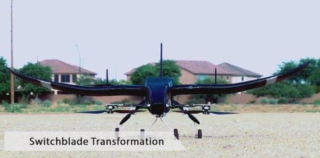 drone VTOL transfomer