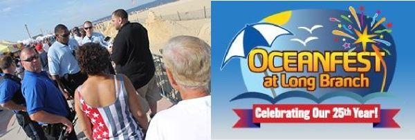 drone costretto ad atterrare alla Oceanfest di Long Branch