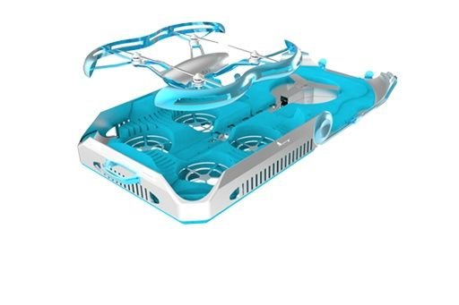 valigia ricarica drone