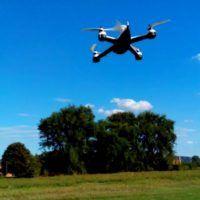 il drone Flying 3D X8 senza carrello
