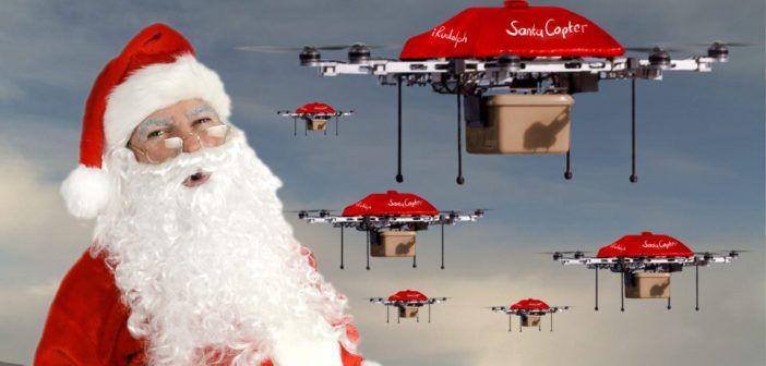 record di vendite droni per Natale