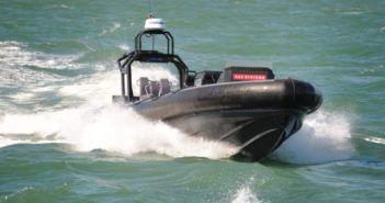 drone marino a chglia semi rigida per portaerei inglesi