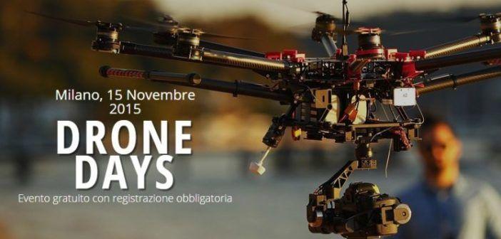 DroneDays Milano, evento formazione sui droni