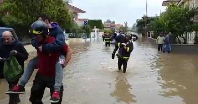 Esondazione canali Olbia