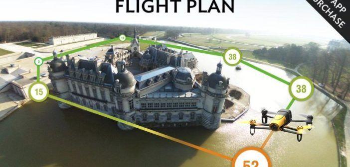 flight plan parrot bebop