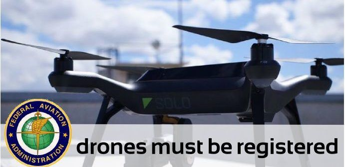 drones must be registered