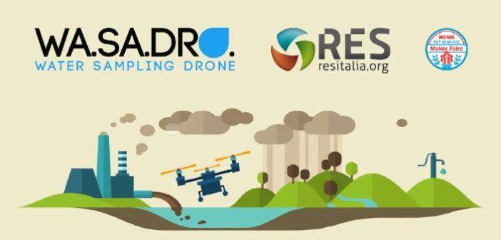 Wa.Sa.Sro Drone per campionamento acque