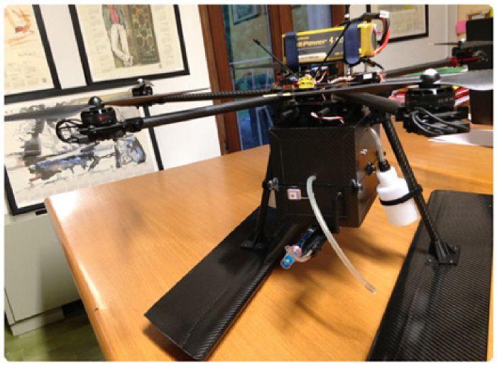 Wa.Sa.Dro sistema per campionamento acqua da installare su droni e SAPR
