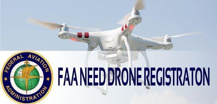 la FAA vuole la registrazione obbligatoria dei droni