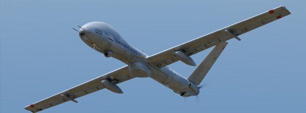 drone hermes 900 in dotaziona alla svizzera