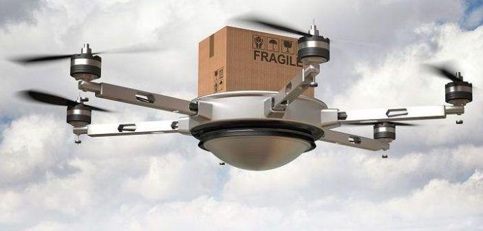 trasporto merci con i droni