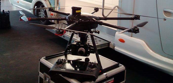 Drone Yuneec Tornado H920 al ModelGame di Bologna