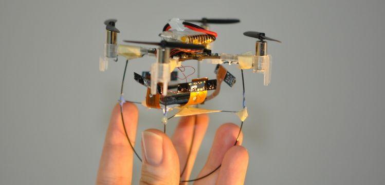 prototipo di drone con visioen stereoscopica a 360°