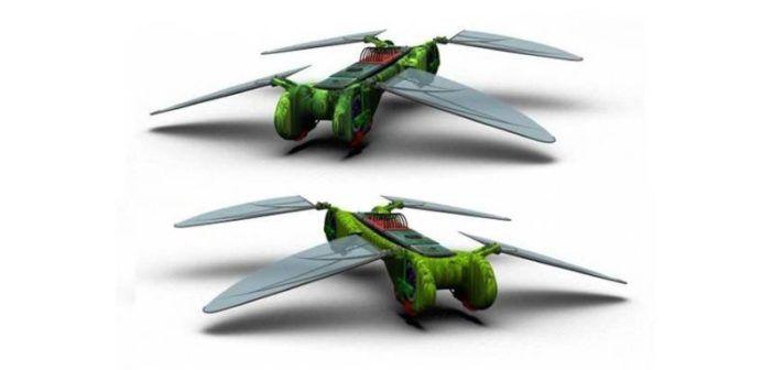 dragonfly progetto drone che non vedrà mai la produzione