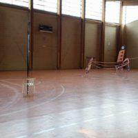 La palestra dove si allena il campione Giuseppe Rinaldi