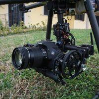 reflex su drone per fotografie aeree