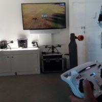 Simulatore di volo molto realistico