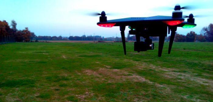 Drone Xiro Xplorer Vision test in volo