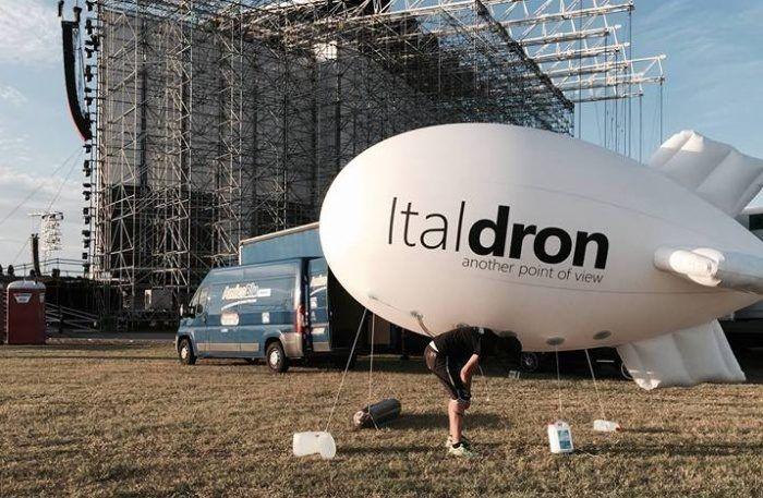 drone dirigibile italdron