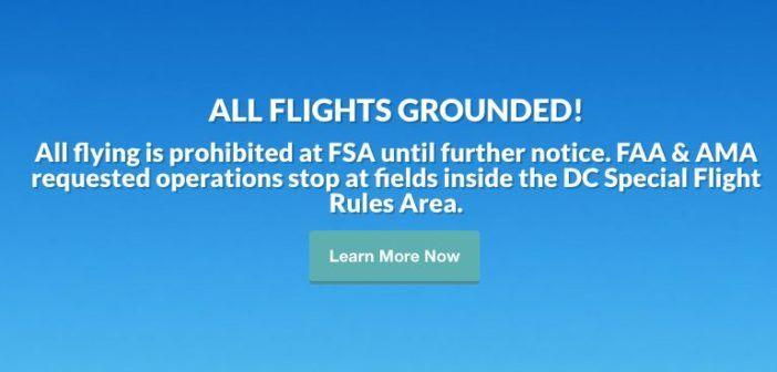 divieto di volo per droni entro 30 miglia da washington