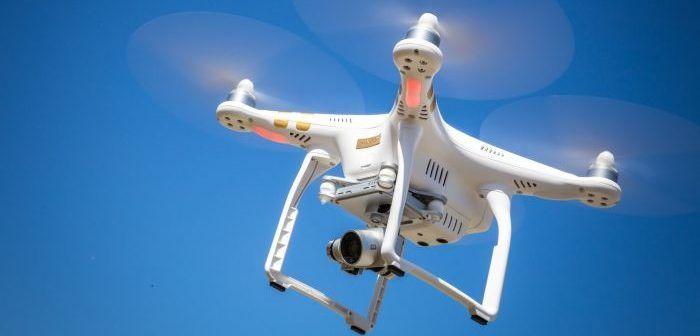 drone cade vicino a passante a Castellanza VA