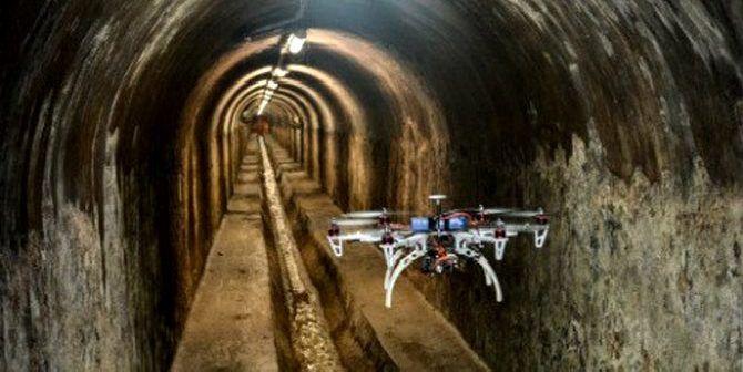 droni per le fogne