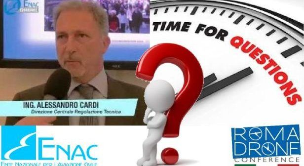 QuestionTime ENAC Cardi a Roma Drone Confernce