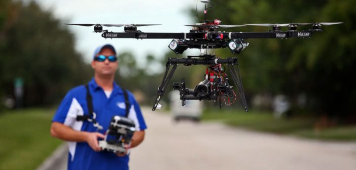 Commercial use of drones