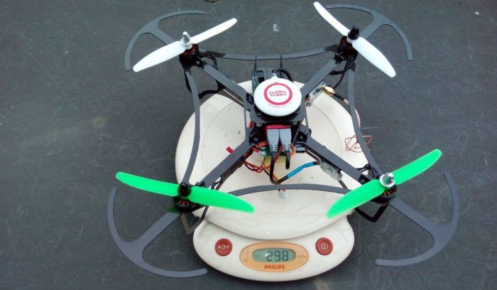 drone da meno di 300 grammi