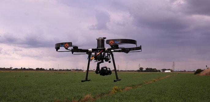 drone per telerilevmento anti smog
