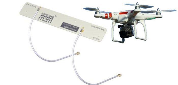 antenna bibanda gps e wifi per i droni