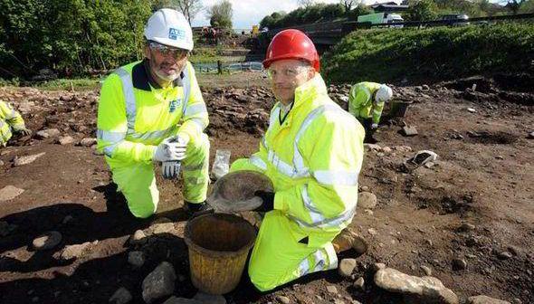 Archeologi al lavoro Foto (c) express.co.uk