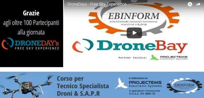 corso per droni azienda sicura