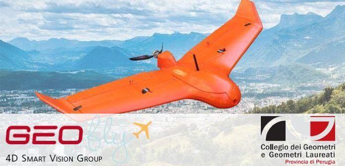 corso geomatica con i droni