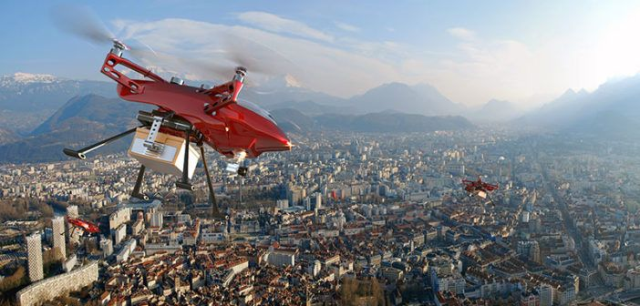 delivery drone Google