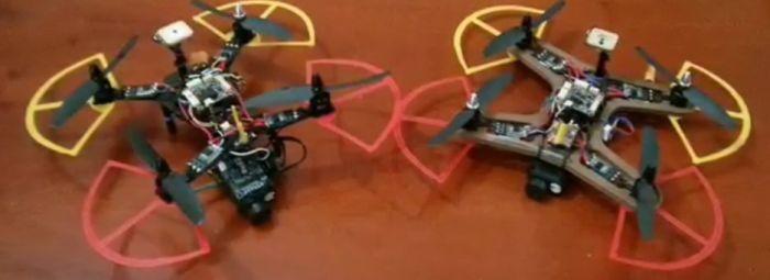 drone da 300gr con paraeliche di gianluca passarella