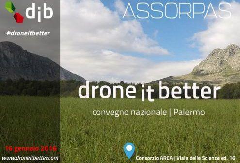 locandina drone it better workshop gratuiti a palermo