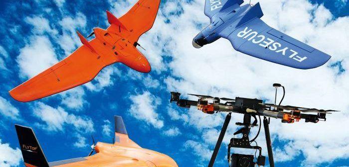 alcuni droni SAPR di FlyTop