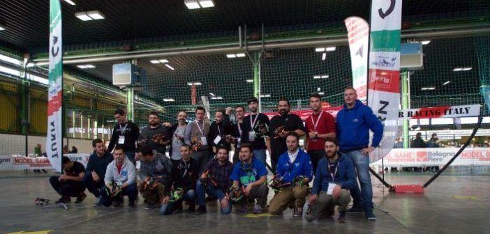 partecipanti manifestazione drone fpv racing Modelgame Bologna