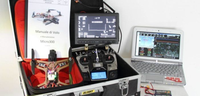 kit micro drone da 300 gr di gianluca passarella