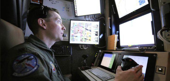 pilota di droni militari